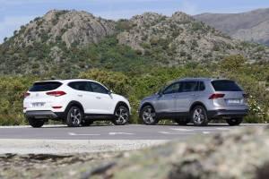 Hyundai Tucson 2.0 CRDI 136 CV o Volkswagen Tiguan 2.0 TDI 150 CV