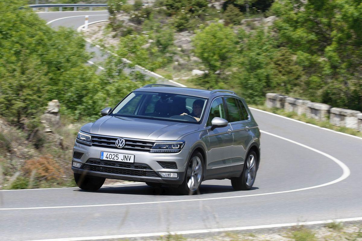 Volkswagen Tiguan 2.0 TDI 150 CV. Frontal