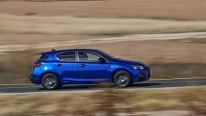 Lexus CT 200h 2017, cambio de imagen y más seguridad (fotos)