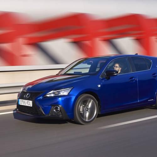 Lexus CT 200h 2017, cambio de imagen y más seguridad