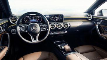 Mercedes-Benz Clase A 2018 interior