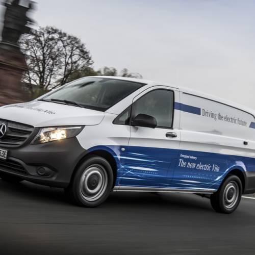 Mercedes-Benz eVito, la furgoneta eléctrica es real