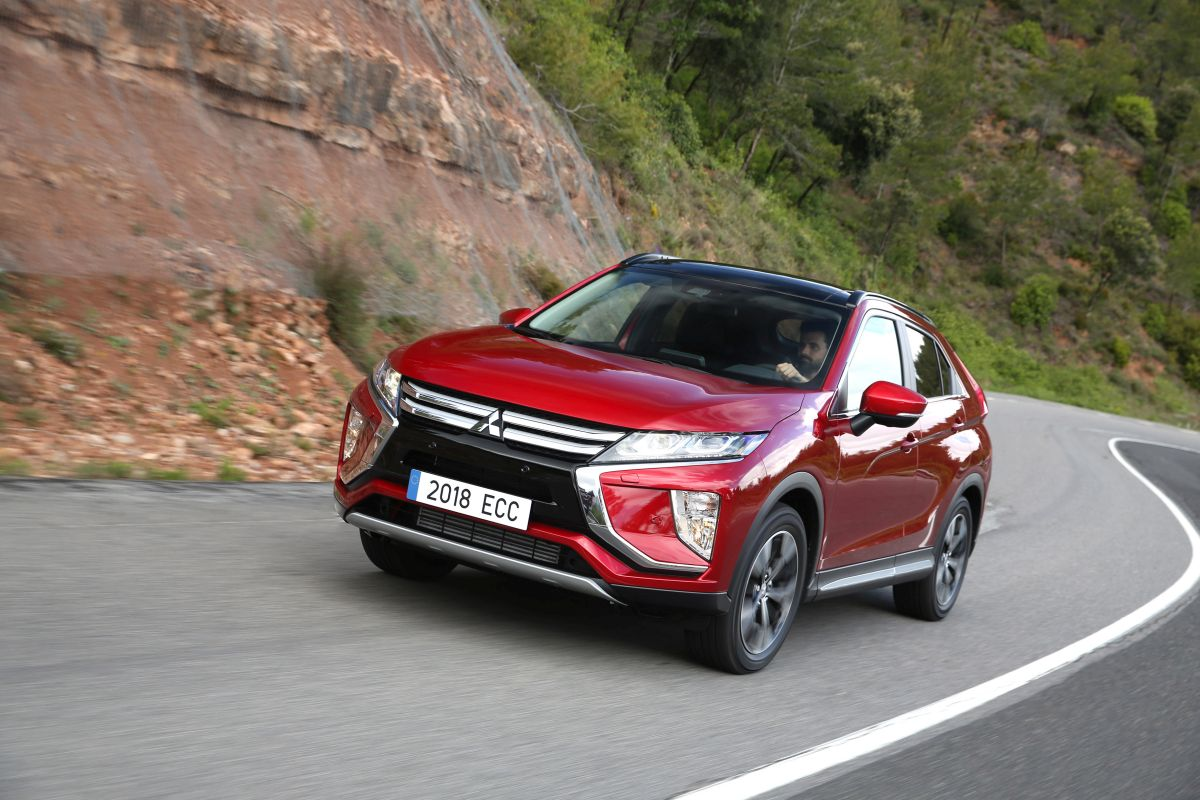 Mitsubishi Eclipse Cross, primera prueba (fotos)