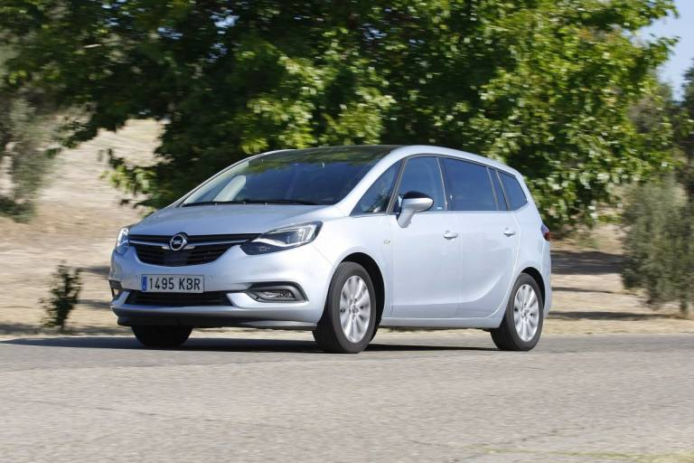 Las 10 mejores ofertas de coches de noviembre. Opel Zafira