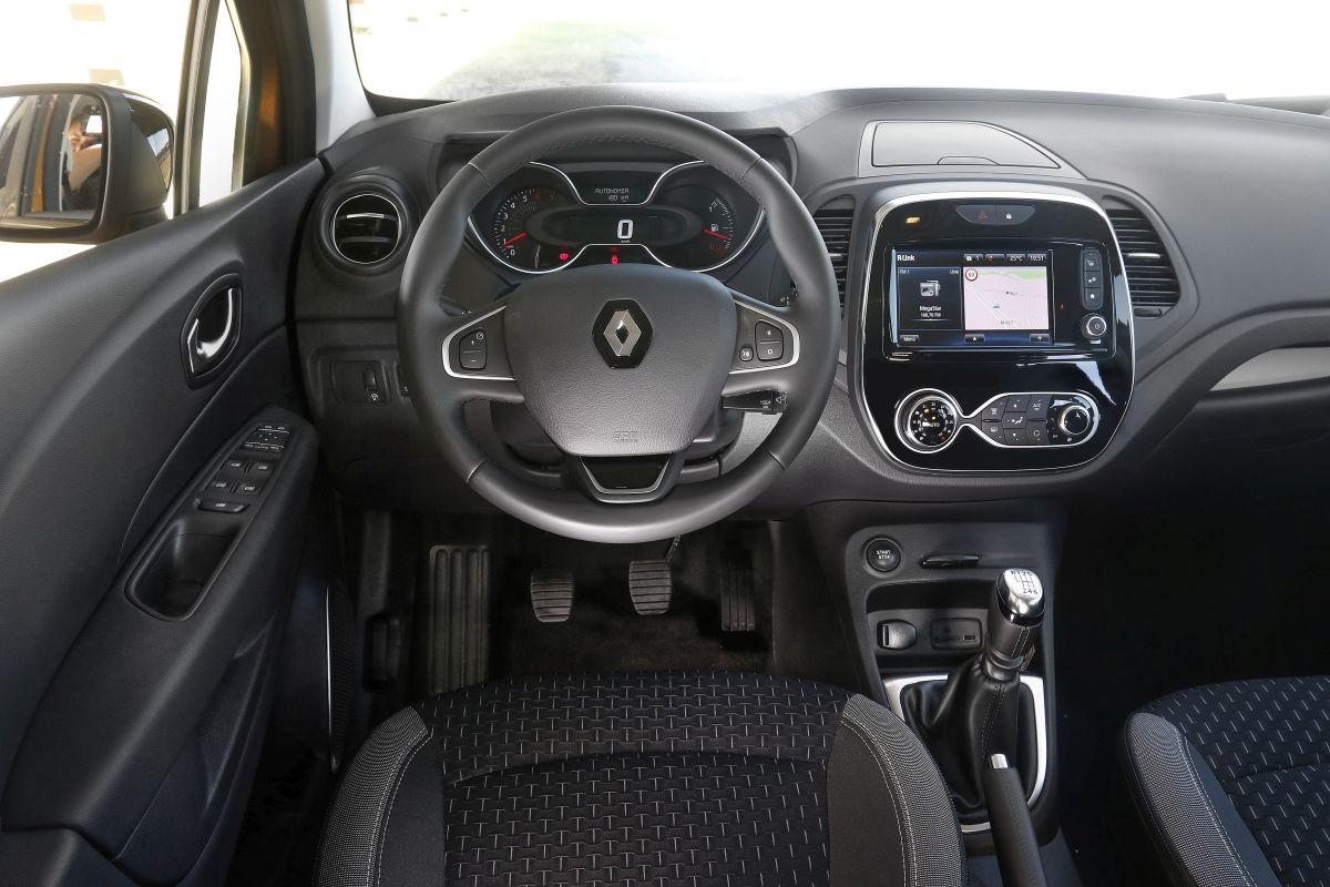 Renault Captur TCe 120 CV. Salpicadero