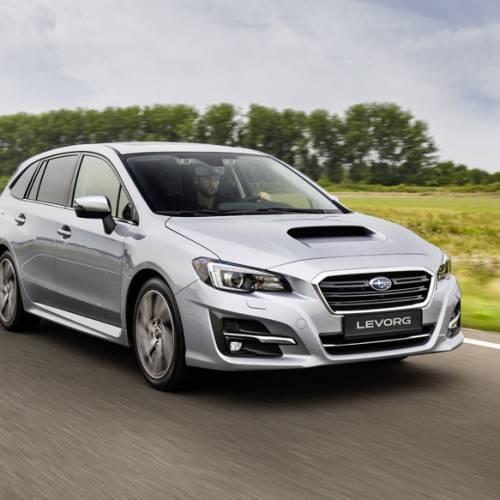 Subaru Levorg 2018, algo de maquillaje para el familiar deportivo