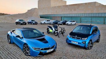 gama eléctrica BMW