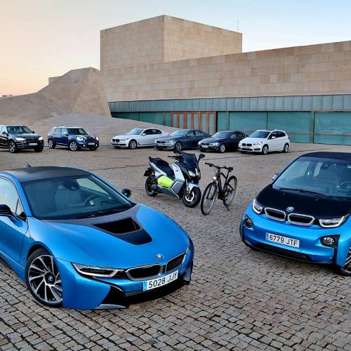 Los vehículos electrificados BMW, referentes de movilidad