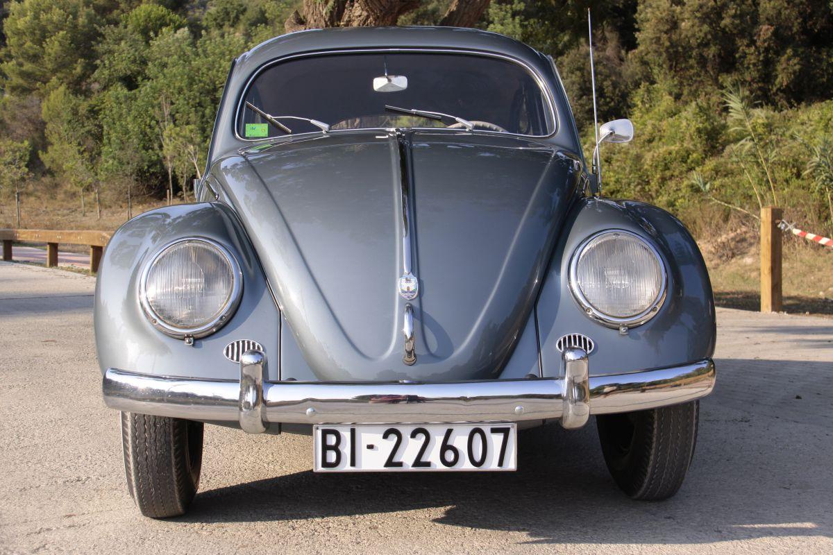 Volkswagen Escarabajo Oval 1955, prueba clásica (fotos)