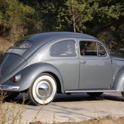 Volkswagen Escarabajo Oval 1955, prueba clásica