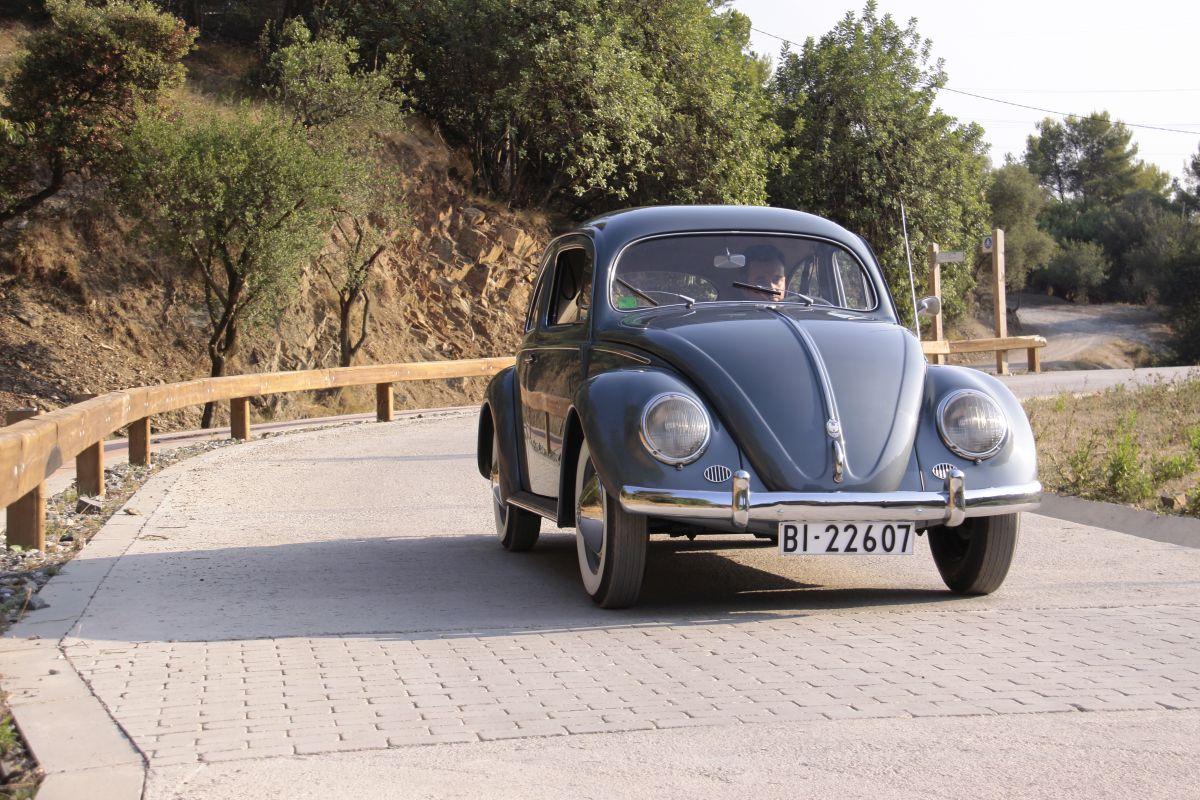 Volkswagen Escarabajo Oval 1955. Apoyo