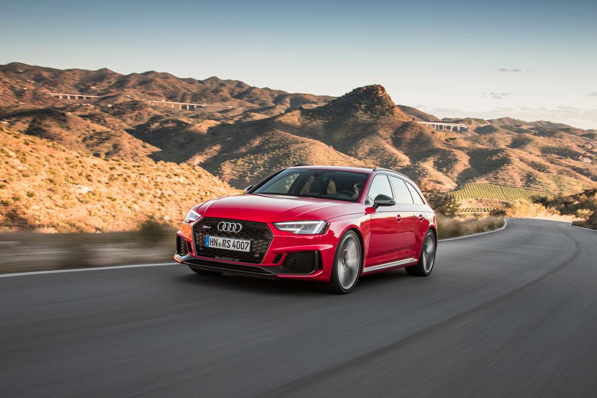 Audi RS 4 Avant 2018: primera prueba (fotos)