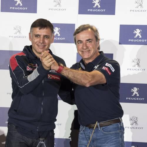"""Carlos Sainz: """"Si no pensara en ganar, no iría al Dakar"""""""