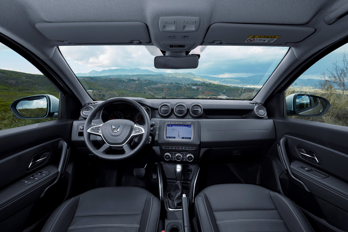 Primera prueba Dacia Duster 2018 (habitáculo)