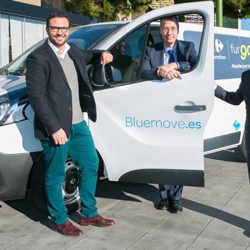 """Europcar y Bluemove lanzan el servicio del alquiler de coches """"FurGo"""""""