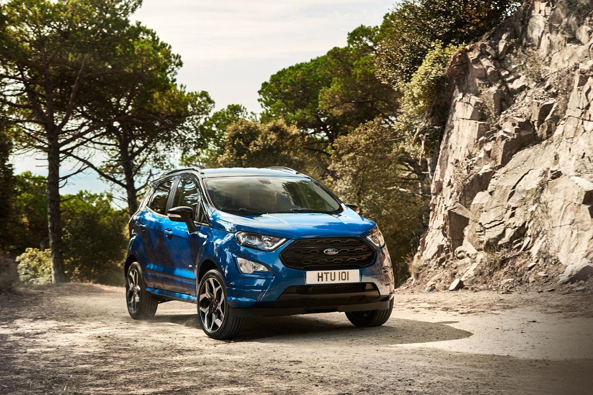 Ford EcoSport 2017-3/4 delantero offroad