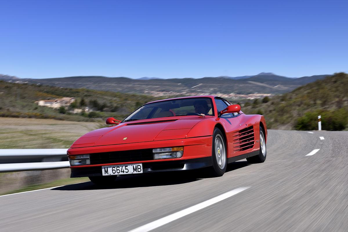 Delantera Ferrari Testarossa