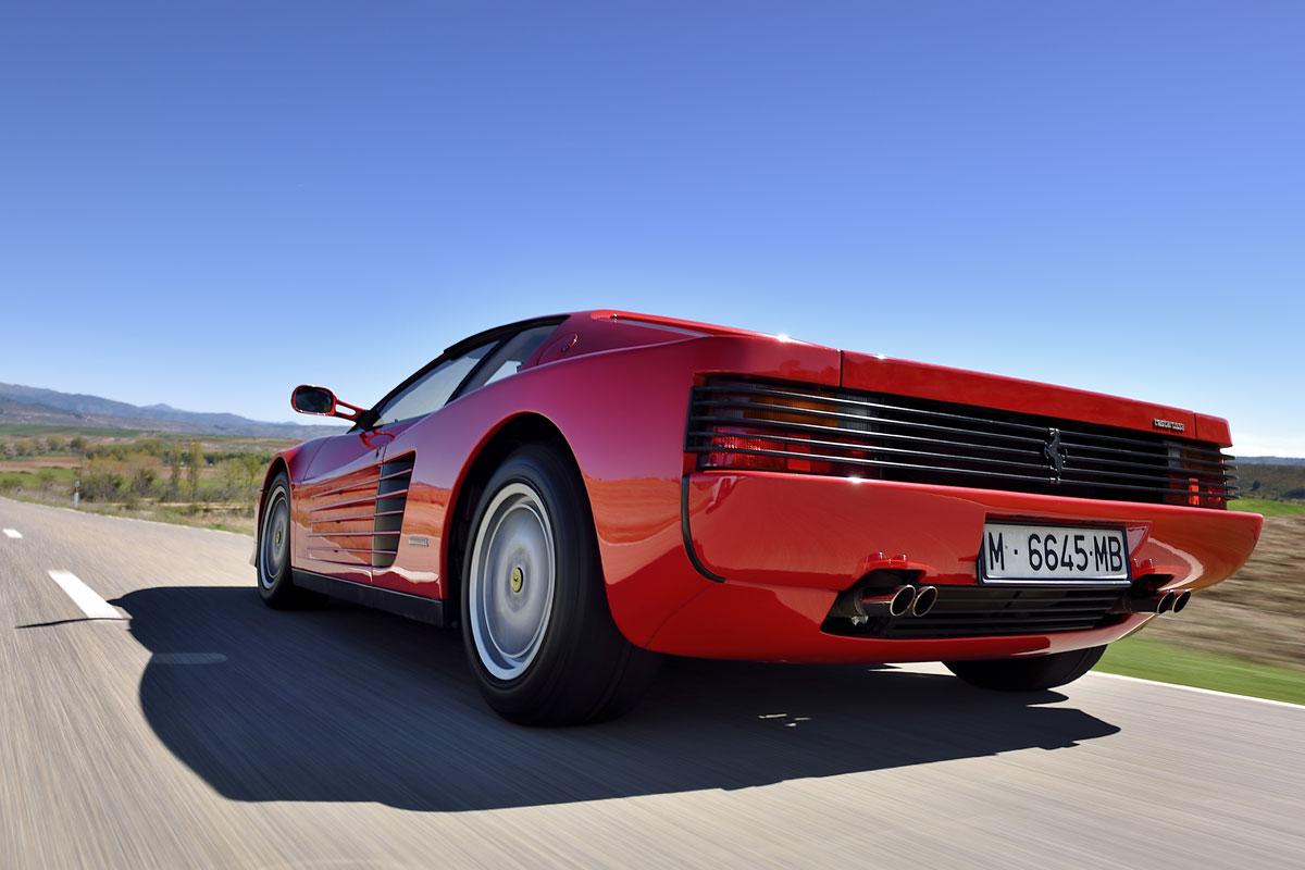 Prueba: Ferrari Testarossa (fotos)