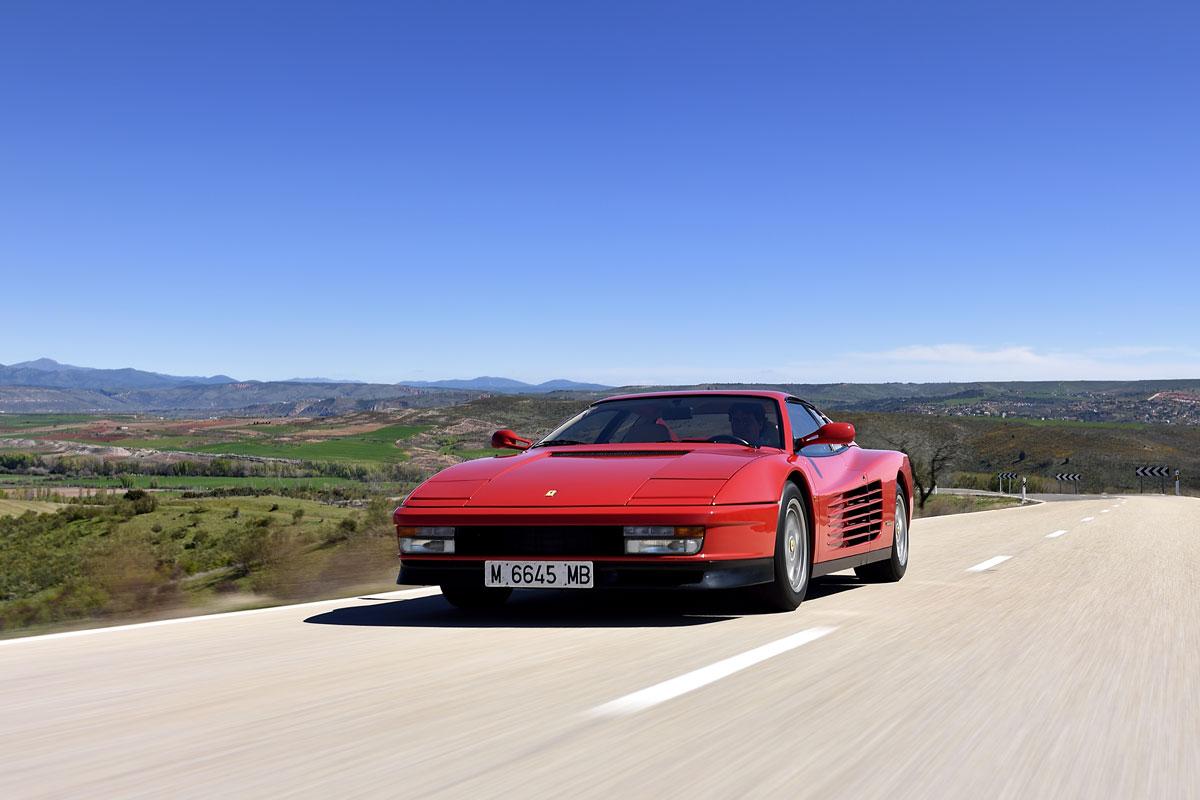 Ferrari Testarossa frontal