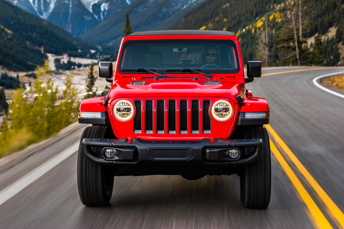 Jeep Wrangler 2018 frontal