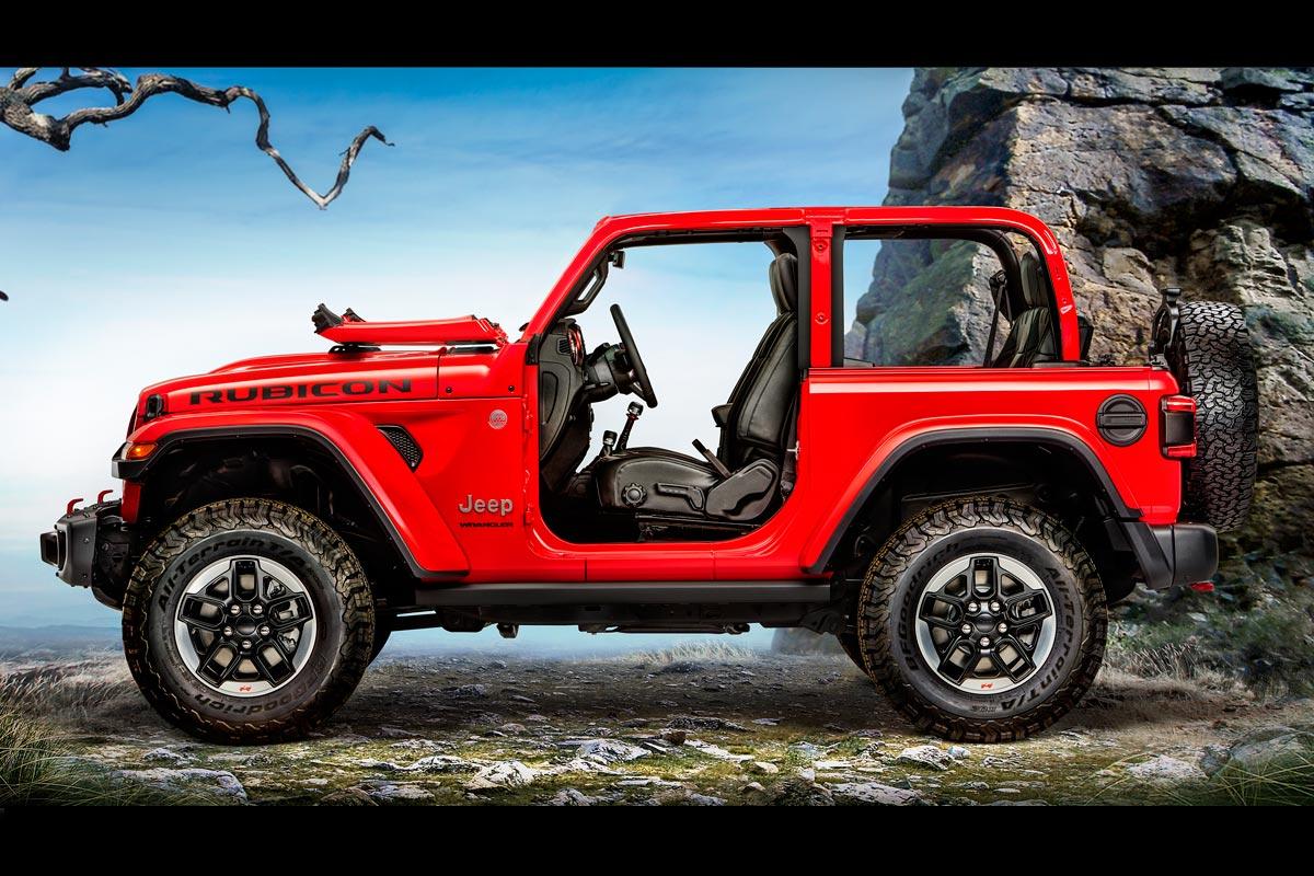 Jeep Wrangler 2018: diseño clásico, mayor tecnología a bordo (fotos)