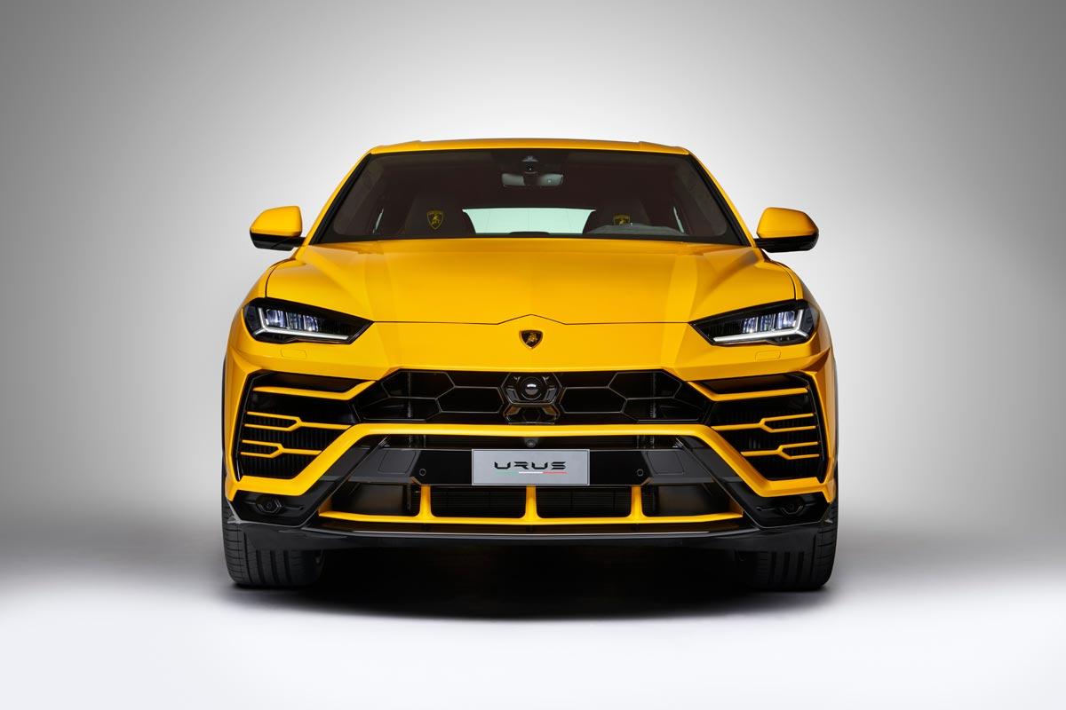 Lamborghini Urus: V8 biturbo de 650 CV para el SUV de Lamborghini (fotos)