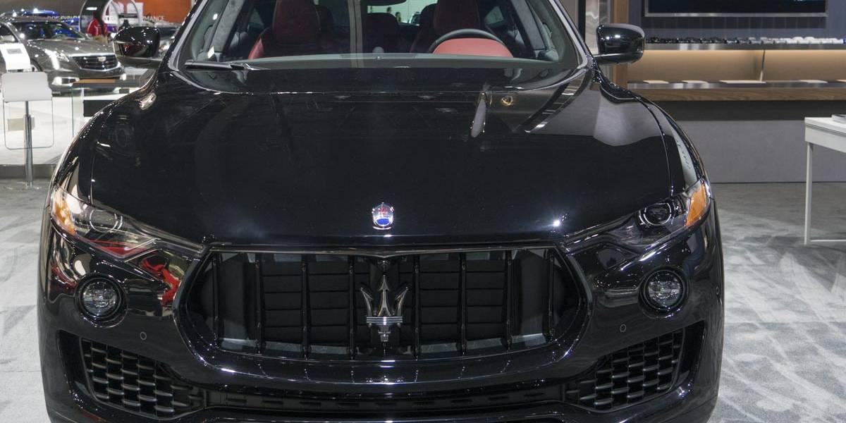 Maserati estrena la versión Nerissimo del Levante en Los Ángeles