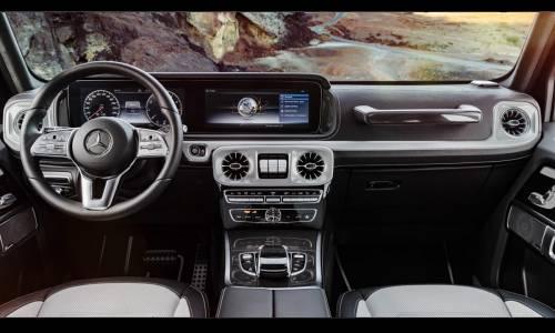 Mercedes-Benz Clase G: recibe un nuevo y actualizado interior