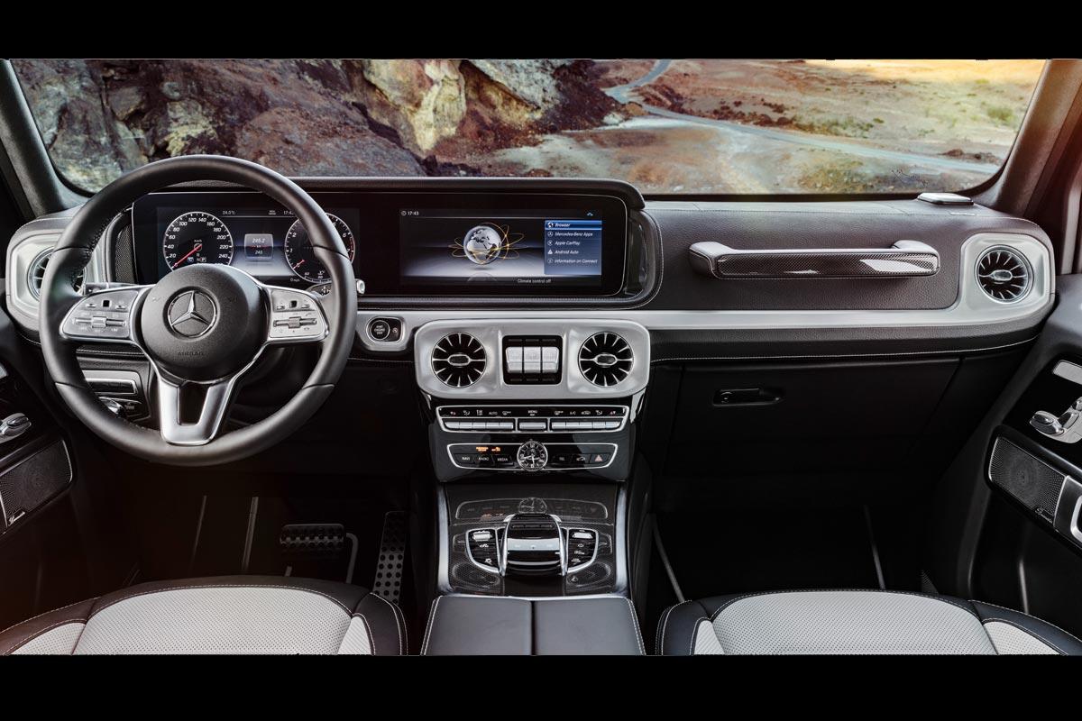 Mercedes benz clase g recibe un nuevo y actualizado for Interior mercedes clase a
