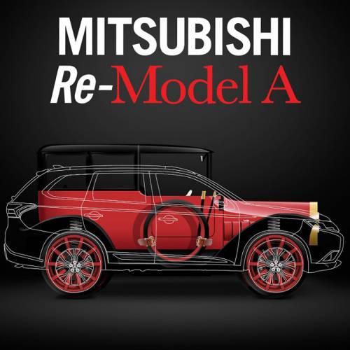 Mitsubishi Re-Model A: así sería hoy su primer vehículo