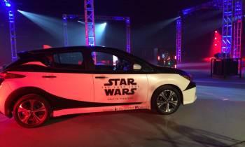 Nissan celebra la nueva película de Star Wars con una batalla con el LEAF