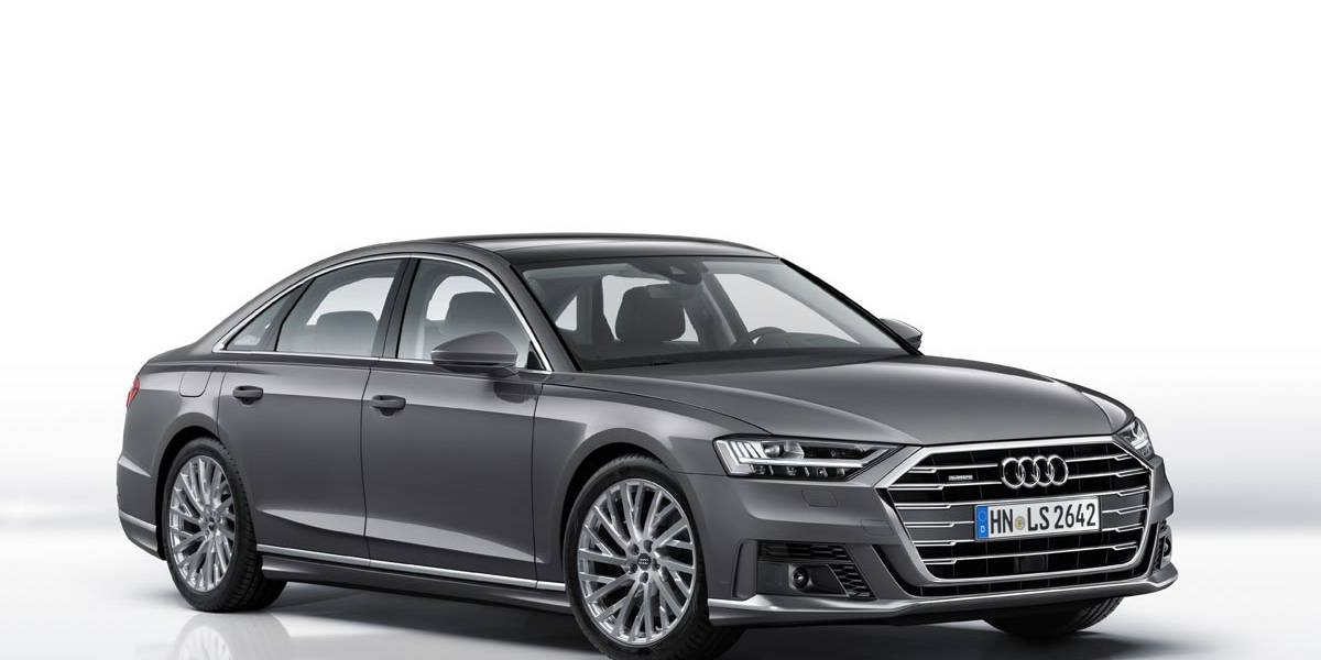 El Audi A8 recibe un nuevo paquete exterior deportivo