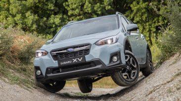 Primera prueba Subaru XV 2018 (cruce de puentes)
