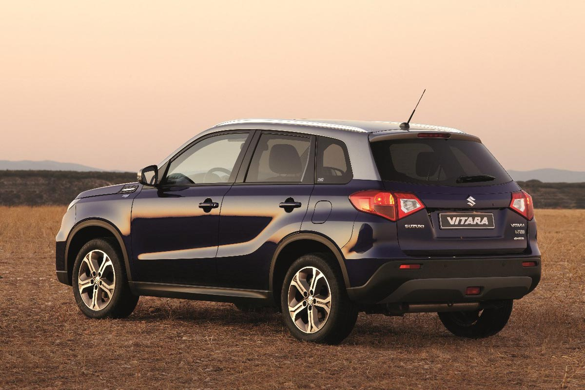 Suzuki Vitara Toro: edición especial en colaboración con Osborne (fotos)