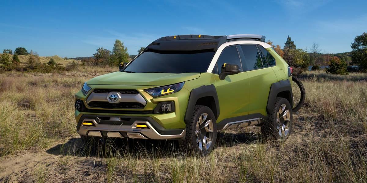 Toyota FT-AC Concept: el todocamino más aventurero de Toyota