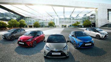 Toyota Yaris 2018 gama