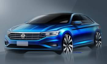 Volkswagen Jetta 2019: teaser del sedán compacto alemán