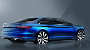 Volkswagen Jetta 2019: teaser del sedán compacto alemán (fotos)