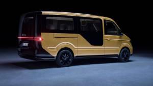 Volkswagen lanza una furgoneta concept destinada a servicios de carsharing (fotos)