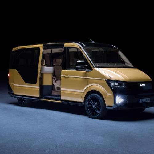 Volkswagen lanza una furgoneta concept destinada a servicios de carpooling