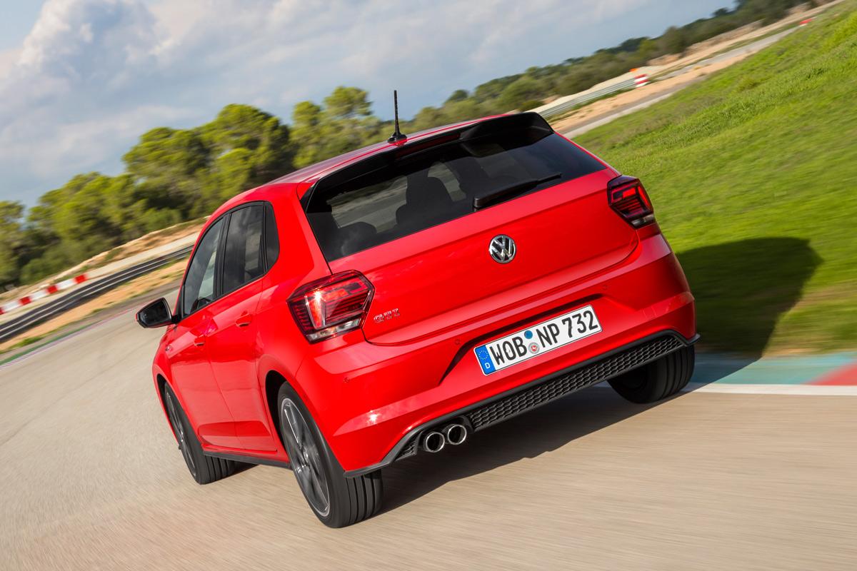 Volkswagen Polo GTI 2018, primera prueba (trasera dinámica)