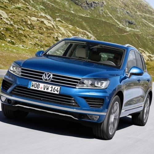 Llamada a revisión del Volkswagen Touareg: 57.000 en todo el mundo