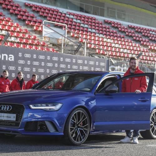Audi entrega sus vehículos a la plantilla del Barcelona