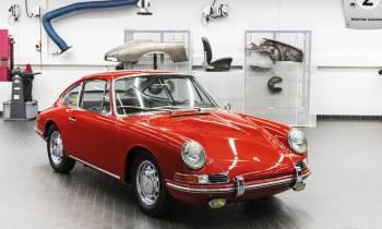 Porsche restaura y exhibe en el museo su 911 más antiguo