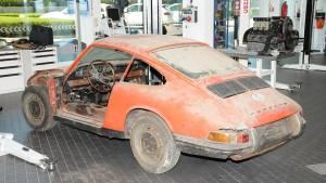 Porsche restaura y exhibe en el museo su 911 más antiguo (fotos)