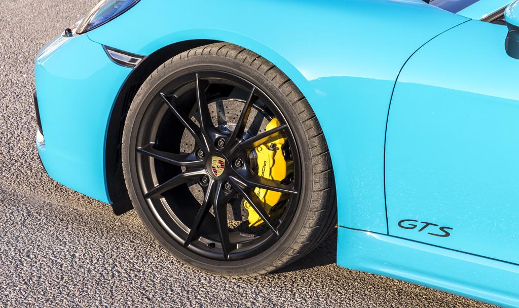Prueba Porsche 718 Boxster GTS llantas