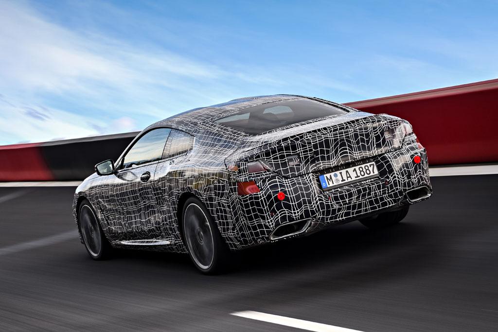 El BMW Serie 8 Coupé 2018 entra en la fase final de su desarrollo