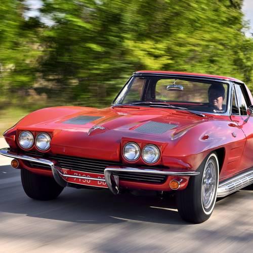 Prueba: Chevrolet Corvette Sting Ray Convertible 1963