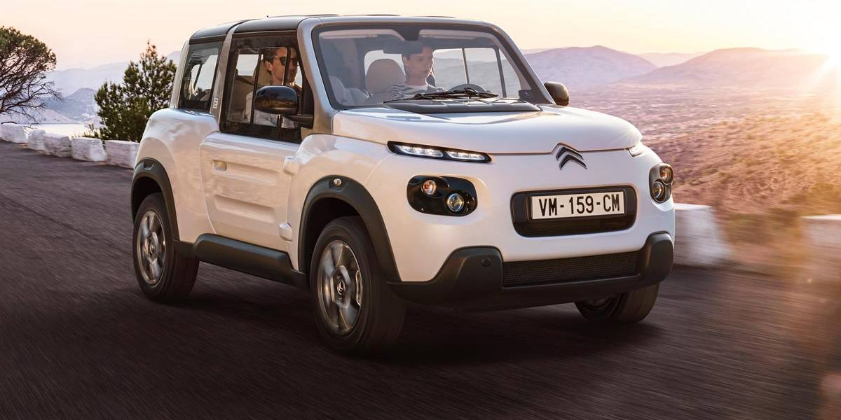 Citroën e-MEHARI 2018: nuevo interior y la posibilidad de un techo duro