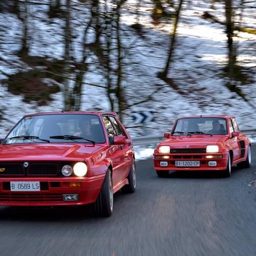 Comparativa clásica: Renault 5 Turbo 2 vs. Lancia Delta HF Integrale 16v